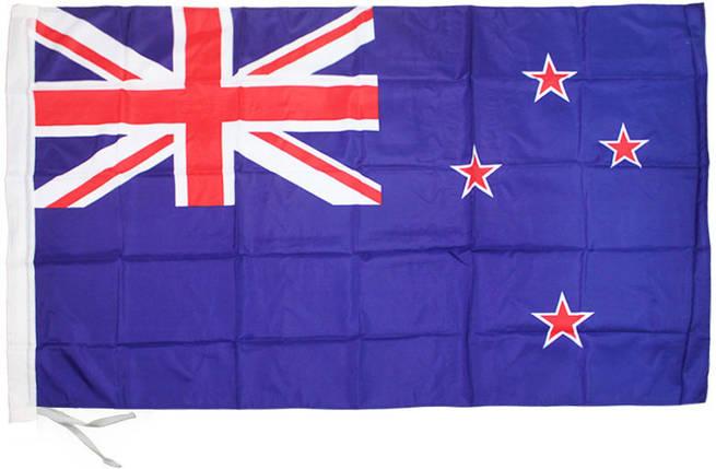 Национальный флаг Новой Зеландии 90х150см , фото 2