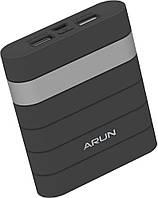Портативное зарядное устройство Arun Y304 10000 mAh Black