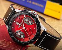 Часы мужские механические Winner F1 Red, фото 1