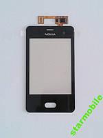 Тачскрин (сенсорный экран) Asha 501, черный, AAA