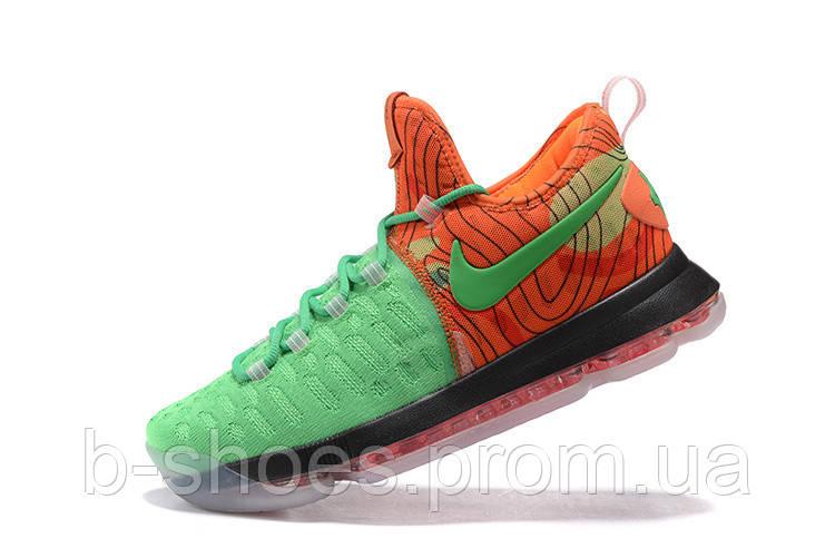 Мужские баскетбольные кроссовки Nike KD 9 (Orange/Green)