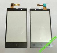 Сенсорный экран Nokia Lumia 820, черный, AAA