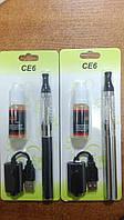 Электронная сигарета 1100mAh Ego СЕ-6 Клиромайзер со сменными испарителями
