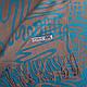 Интересный женский двусторонний палантин из пашмины 182 на 70 см ETERNO (ЭТЕРНО) ES0406-9-4 бежевый , фото 2