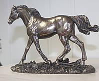 """Статуэтка Veronese """"Бегущий конь"""" (14 см) 76064 A1"""