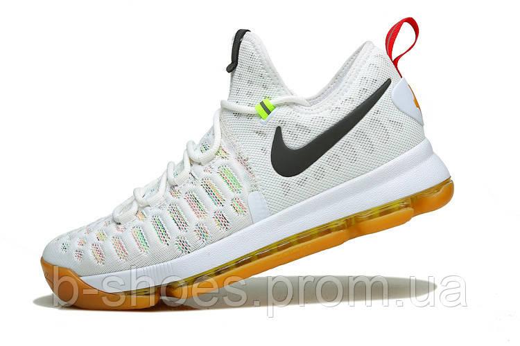 Мужские баскетбольные кроссовки Nike KD 9 (White/Multicolor)