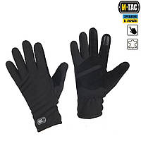 M-TAC ПЕРЧАТКИ ФЛИС WINTER TACTICAL WINDBLOCK BLACK
