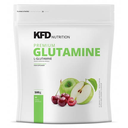Premium Glutamine KFD Nutrition 500 g, фото 2