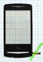 Сенсорный экран для FLY E130 черн (ORIGINAL)