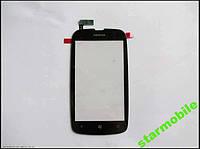 Сенсорный экран Nokia Lumia 610, черный, ORIG