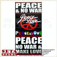 """Репродукция 15x30 см """"Peace"""" на холсте"""