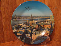Тарелка сувенир Рига