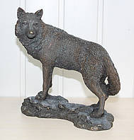 Статуэтка Veronese Волк 24 см 74614A4, символ храбрости