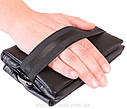 Мужская сумка из искусственной кожи E30904 Черная, фото 4