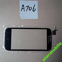 Сенсор для мобильного телефона Lenovo А706 чер,бел