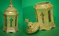 Керамическая часовня перламутр