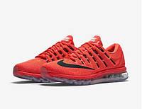 Мужские кроссовки Nike Air Max 2016 (Bright Crimson/Black), фото 1