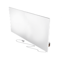 Керамическая отопительная панель FLYME с программатором 900 Вт белая матовая