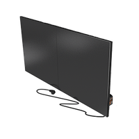 Керамическая отопительная панель FLYME с программатором 900 Вт чёрная матовая