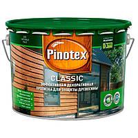 PINOTEX CLASSIC Средство для защиты древесины с декоративным эффектом (Тиковое дерево) 10 л
