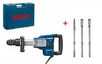 Отбойный молоток Bosch GSH 11 VC + оснастка