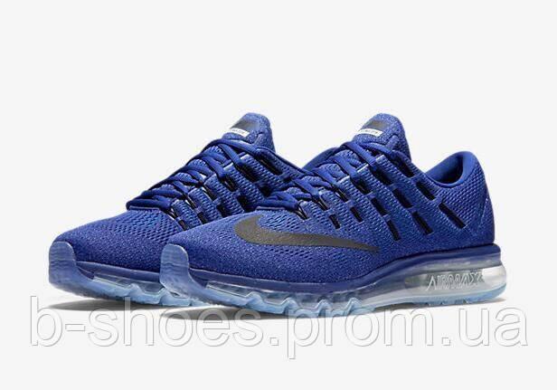 5b489b357 Мужские кроссовки Nike Air Max 2016 (Dark Blue/Black) купить в Киеве ...