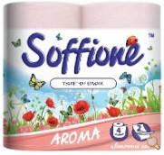 Туалетная бумага Soffione Aroma цветочный сад