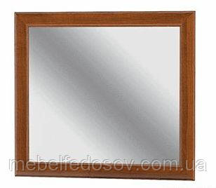 Зеркало Даллас (Мебель-Сервис)  890х795мм каштан