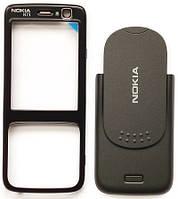Корпус Nokia N73 черный (панели)