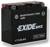 Аккумулятор для мотоциклов Exide ET12B-BS = YT12B-BS