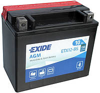 Мото аккумулятор Exide YTX12-BS = ETX12-BS 10Ah 150A