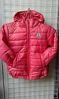 Куртка подростковая Fashion на 116-140 см на синтепоне в ассортименте