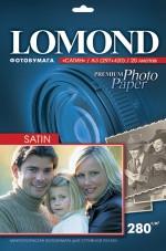 Фотобумага Lomond Satin ( формат А3 , плотность 280 г/м2 односторонняя сатин ) 20 листов