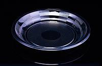 Тарелка одноразовая прозрачная 205мм