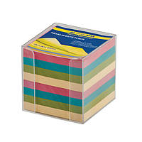 Бокс с цветной бумагой прозрачный BM.2291-03