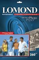 Фотобумага Lomond Super - Glossy ( формат А3 , плотность 260 г/м2 односторонняя супер-глянцевая ) 20 листов