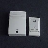 Звонок дверной, беспроводной Horoz Electric 38 мелодий 120м на батарейках LUX-535131