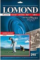 Фотобумага Lomond SuperGlossy Warm ( формат А3 , плотность 295 г/м2 односторонняя супер-глянцевая ) 20 листов