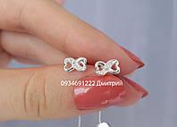 Серебряные гвоздики на закрутке арт.310230