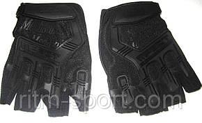 Перчатки тактические с открытыми пальцами MECHANIX (черный), фото 2