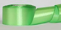 Атласная лента, ширина 5 см, 1 м, цвет светло-бирюзовый