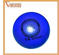 Мяч для художественной гимнастики D-19 см (синий), фото 1