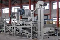 Оборудование для шелушения и сепарации овса TFYM1000
