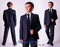Подростковый деловой костюм Тимур, школьная форма для мальчика