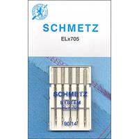 Иглы Schmetz для оверлоков и плоскошовных машин №80-90