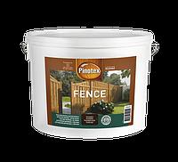 PINOTEX FENCE Декоративная деревозащита для деревянных поверхностей (Красное дерево) 10 л