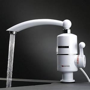 Оригинал! DELIMANO Проточный водонагреватель на кран. Мини бойлер