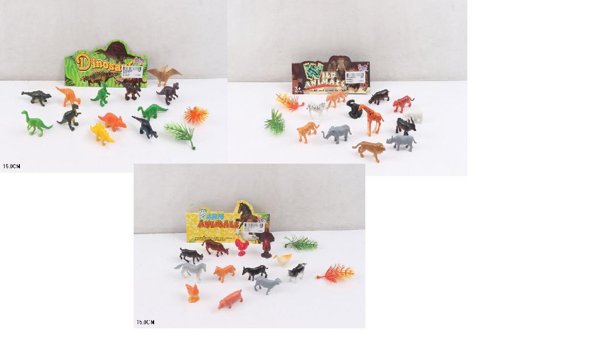 Набор игровых фигурок животных динозавров, 866-B111/B211/B311