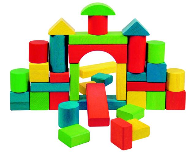 Пирамидки и кубики