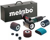 Щеточная шлифовальная машина Metabo SE 12-115 Set
